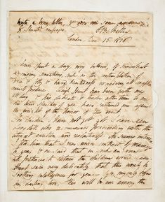 Percy Bysshe Shelley to Mary Godwin, 15 December 1816 15 December, Lord Byron, Writers And Poets, Romanticism, Pens, Sheet Music, Literature, Drama, Mary