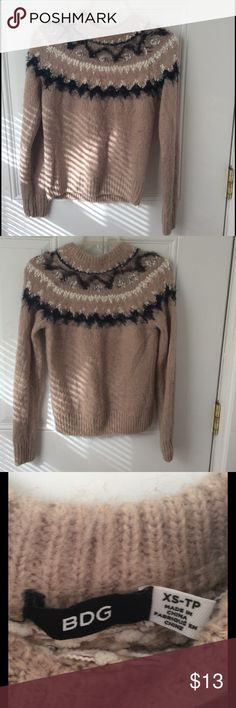 BDG Sweater Worn once, no holes or pilling. *Sale price available until 12/11/16 with Poshmark discount shipping! Urban Outfitters Sweaters