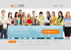 Pro Logic Recruiting Agency HTML5 Template by Dynamic Template