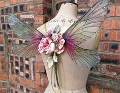 A beautiful pair of wearable rainbow faerie wings in magical hues of autumnal colours of oranges and Browns, made using our own hand made wings. Sleeping Beauty Ballet, A Kind Of Magic, Autumn Fairy, Renaissance Costume, Fairy Dress, Fairy Wings, Butterfly Wings, Ball Jointed Dolls, Faeries