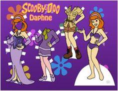 Scooby-Doo dolls - Daphne by EternallyOptimistic