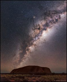 #milkyway (taken from Ayers Rock, Australia)
