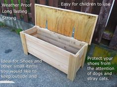 Day 17 Build an Outdoor Storage Bench Projects to do soon