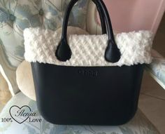O Bag invernale Leather Bag, Girly, Tote Bag, Purses, Accessories, Crochet Bags, Hobbies, Outfit Ideas, Sewing