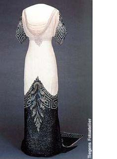 Queen Maud of Norway - Evening Dress 'Arlesienne' 1912-13