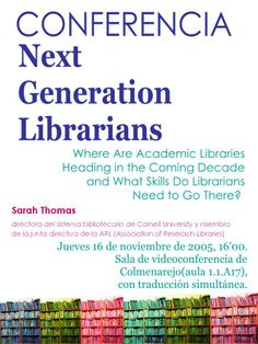 Next Generation Librarians