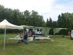 Antes del montaje de la carpa de #EtsyBCN en el White Summer Market & Party.