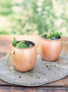 Moscow Mule: http://www.stylemepretty.com/2014/11/14/8-cozy-cocktail-for-autumn-weddings/