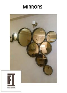 Expand your room and make a style statement with our opulent range of mirrors. Buy designer bathroom & living room mirrors available in various designs and shapes at Foyer Interiors. Get your customized order today .Click here to find more www.foyerinteriors.com   #homedécor #homeinteriors #designermirrors