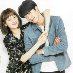 """""""a little throwback won't hurt"""" Swag Couples, Cute Couples, Lee Sung Kyung Photoshoot, Weightlifting Kim Bok Joo, Nam Joo Hyuk Lee Sung Kyung, Kim Book, Kim Yoo Jung, I Love Cinema, Couple Photoshoot Poses"""