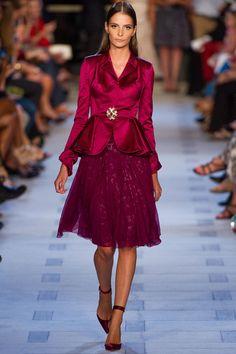 Zac Posen Spring 2013 Ready-to-Wear Fashion Show - Naomi Campbell
