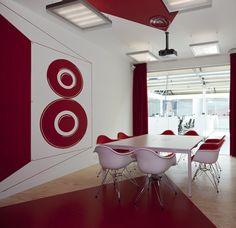 Red Bull HQ Amsterdam via Design Bureau