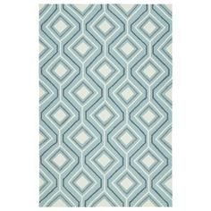 Kaleen Escape Blue Indoor/Outdoor Handcrafted Coastal Area Rug (Common: 5 x Actual: W x L) at Lowe's. Find your magical oasis and the perfect getaway from everyday life with our new escape collection! These fun Geo printed indoor/outdoor rugs, will Coastal Area Rugs, Blue Area Rugs, Coastal Decor, Kaleen Rugs, Patio Rugs, Buy Rugs, Geometric Rug, Indoor Outdoor Area Rugs, Online Home Decor Stores