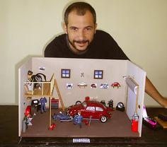 garage diorama