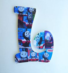 NEW Thomas the Train Single Initial Name by BearySpecialScrappin ...
