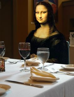 Mona Lisa Smile, Mad Movies, Mona Friends, Keith Haring Art, Mona Lisa Parody, Wayne Thiebaud, Famous Singers, Albrecht Durer, Hilarious Pictures