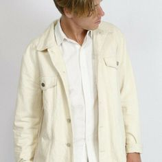 Off White Jacket, Brand New, Denim, Coat, Jackets, Shirts, Fashion, Down Jackets, Moda