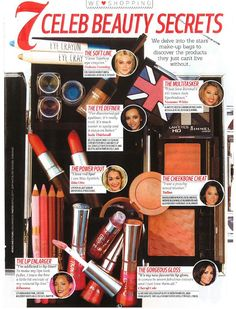 Blusher Brick in Top of the Pops Magazine
