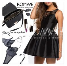 """Romwe 4."" by selmagorath ❤ liked on Polyvore featuring women's clothing, women's fashion, women, female, woman, misses and juniors"
