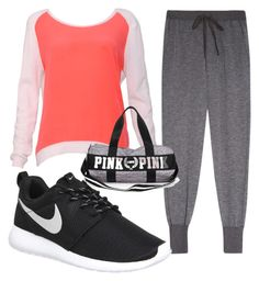 A fashion look from January 2016 featuring red long sleeve shirt, Clu and black tennis shoes. Browse and shop related looks. Red Long Sleeve Shirt, Shirt Sleeves, Clu, Sandro, Fashion Looks, Nike, Polyvore, Shopping, Shoes