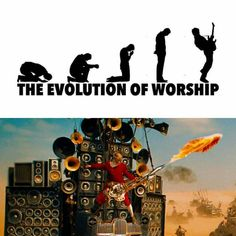 source unknown | evolution of worship