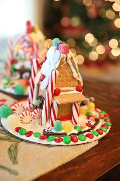 Gingerbread houses made easy!