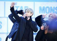 MONSTA X Wonho ( Minhyuk Shownu & Kihyun )