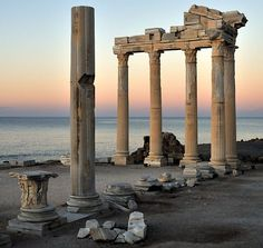 Apollo Temple : Where Anthony and Cleopatra Met - Turkey