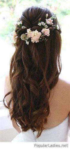 Lovely brown hair look