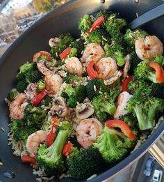"""""""Sautéed Shrimp & Broccoli PIN it! http://cleanfoodcrush.com/shrimp-broccoli/ Fast, satisfying Homemade Clean Eating Dinner...WAY better than takeout :)…"""""""