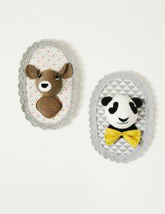 Une biche....et un panda !
