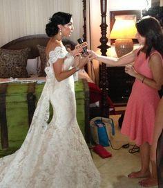 Lovella Bride Courtney Lopez in @Ines Di Santo