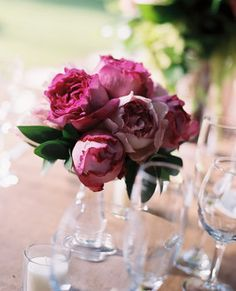 Wedding, Flowers, Pink, Centerpiece, Green, Decor, Brown
