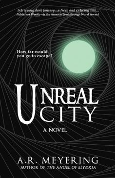 http://bookbarbarian.com/unreal-city-by-a-r-meyering/ Sarah Wilkes is desperate enough to do anything, even make a deal with the devil—or in her case, a familiar spirit.  After her twin Lea is murdered, Sarah finds college life impossible and longs to escape. Everything changes when Sarah realizes a familiar spirit is stalking her and offers to transport her to the terrifying and fantastical realm of Unreal City. The payment for admission? A taste of her blood. Unable to