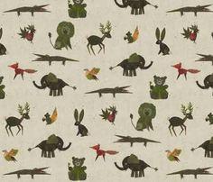 Resultado de imagem para Leaf Prints animals