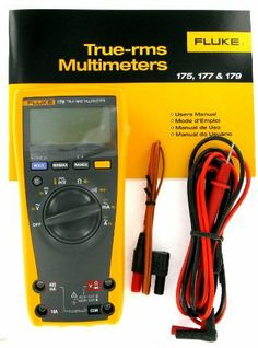 Fluke 179 Digital Multimeter by Fluke 170 Series. $281.97. Want a smarter meter or a tougher one? Buy one of these and you get both. With features like lifetime warranty. 6000 count resolution. 0.09% accuracy 177,179. Min/Max/Average.  True-rms, ac voltage and current. They're all CAT IV rated and sport an easy access door. The 177 and 179 have a backlight.  The 179 measures temperature. All told, this is one powerhouse line of digital multimeters. They're all super-s...