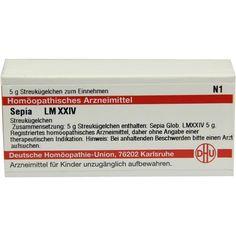 LM SEPIA XXIV Globuli:   Packungsinhalt: 5 g Globuli PZN: 02678864 Hersteller: DHU-Arzneimittel GmbH & Co. KG Preis: 8,10 EUR inkl. 19 %…