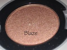 Urban Decay Blaze Eyeshadow - Dupe for MAC All That Glitters (I want the UD ONe)
