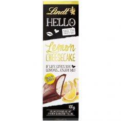 Lindt Hello Lemon Cheesecake Shops, Chocolate Brands, Lemon Cheesecake, Health And Beauty, Sweets, Drinks, Packaging, Food, Products