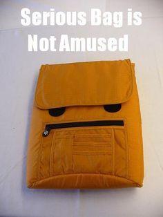 Funny, LOL, Lmao, Serious, rofl, Fun, Bag