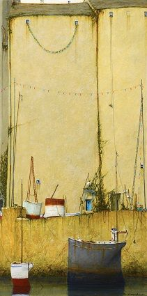 'Tom Bawcocks Eve, Mousehole' Cyril Croucher