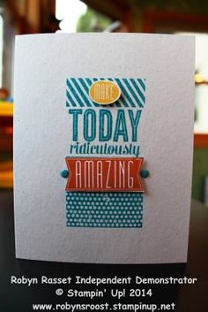 Amazingly Simple DSC#093 color challenge #AmazingBirthday #robynsroost #easytomakegreetingcard #diy #stampinup www.robynsroost.stampinup.net