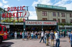 Pike Place Market (@PikePlaceMarket) | Where to eat in Seattle