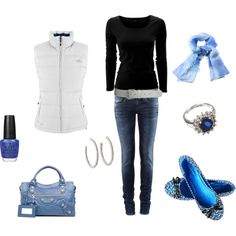 got the blues, created by fluffof5.polyvore.com