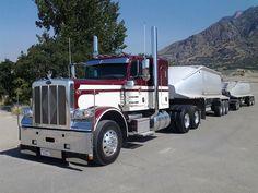 Peterbilt 389, Peterbilt Trucks, Semi Trucks, Vehicles, Trailers, Iron, Big, School, Hang Tags