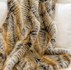 Lemur Faux Fur Throw | Indeed Decor