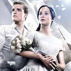 Peeta & Katniss ❤️ A sneak peak inside the pages of our new book, 'Tim Palen: Photographs from the Hunger Games'