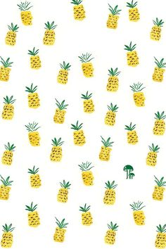 Free iphone wallpaper with hand drawn pineapple pattern Girly Wallpaper, Cute Wallpaper For Phone, Wallpaper Ipad Mini, Summer Wallpaper, Hd Wallpaper, Wallpaper Downloads, Pattern Wallpaper, Cute Pineapple Wallpaper, Pineapple Backgrounds