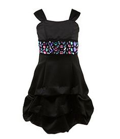 Amazon.com: Beautees Girls 7-16 Lace Dress With Shrug: Clothing ...