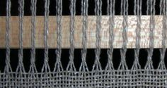 how-to for lace weaving - leno lace, brooks bouquet, etc.